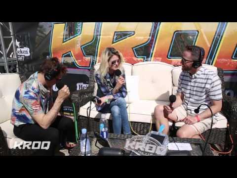 Stryker Interviews The Kills at the KROQ Coachella House