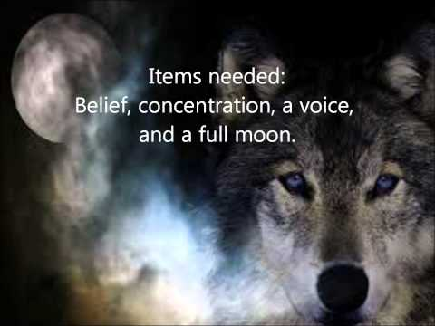 ANOTHER WEREWOLF SPELL(REALLY REALLY WORKS;) | FunnyDog.TV