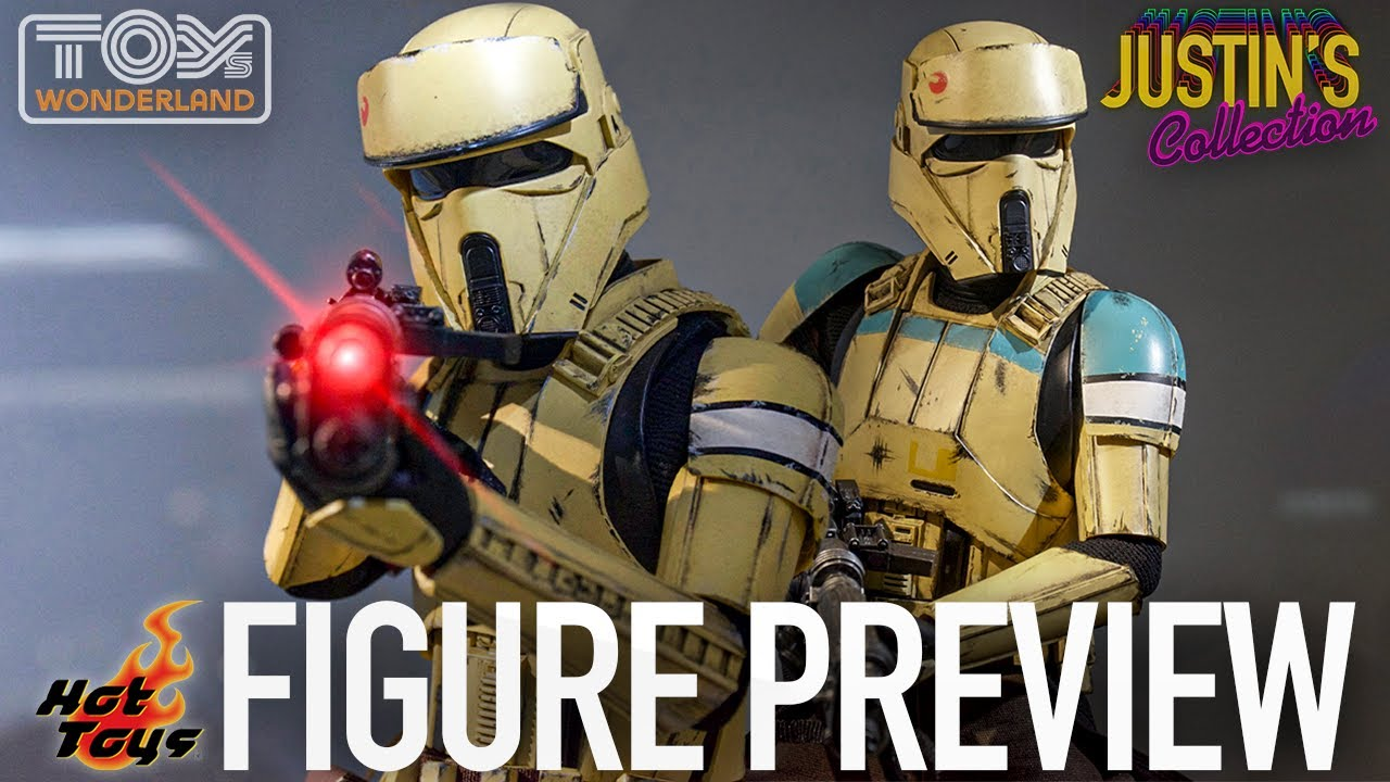 Hot Toys Mandalorian Shoretrooper / Rogue One Shoretrooper Captain - Figure Preview Episode 80