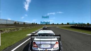 Toca DTM Race Driver 3 - PC Gameplay - Multiplayer Online Race - Video Clips