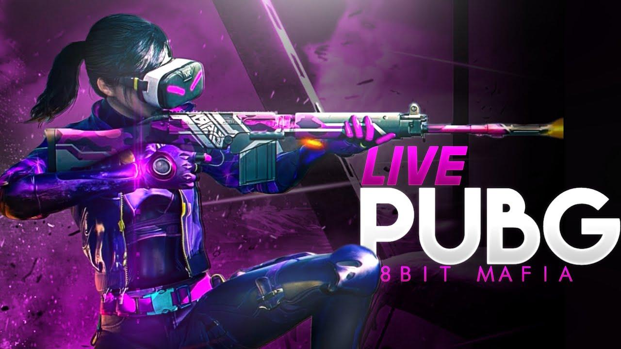 Conqueror Push Top 100 || 6600 Points || PUBG Mobile Live || 8bit Mafia Live