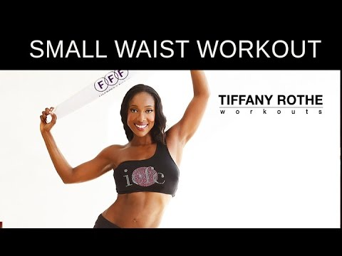 10 Minute Booty Shaking Towel Workout! LOSE INCHES OFF YOUR WAIST!   TiffanyRotheWorkouts