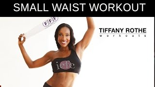 10 Minute Booty Shaking Towel Workout! LOSE INCHES OFF YOUR WAIST!​​​ | TiffanyRotheWorkouts​​​