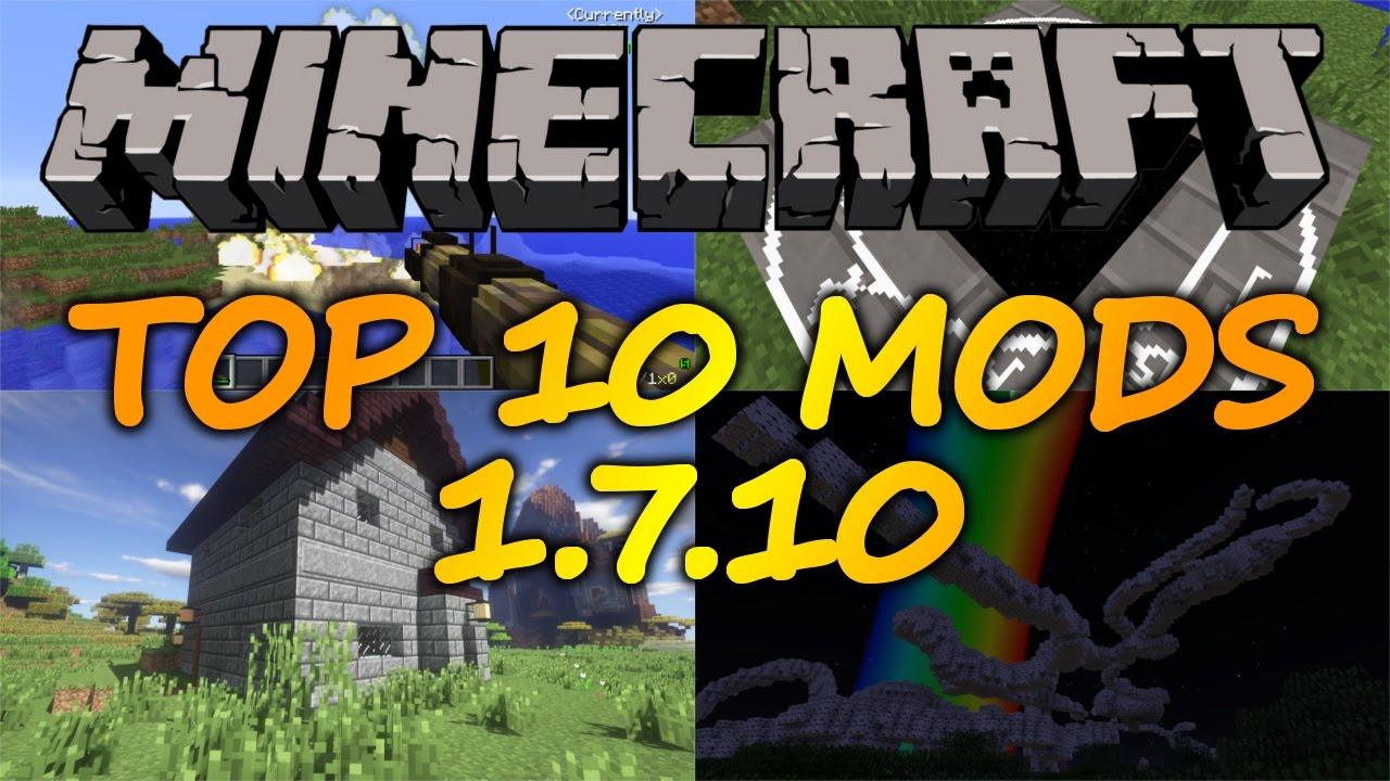 Top 10 minecraft mods 1. 7. 10 /// minecraft mods /// minecraft mods.
