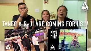 Reacting to ALAMAT - 'kasmala' (choreo teaser) + MV (Behind The Scenes)