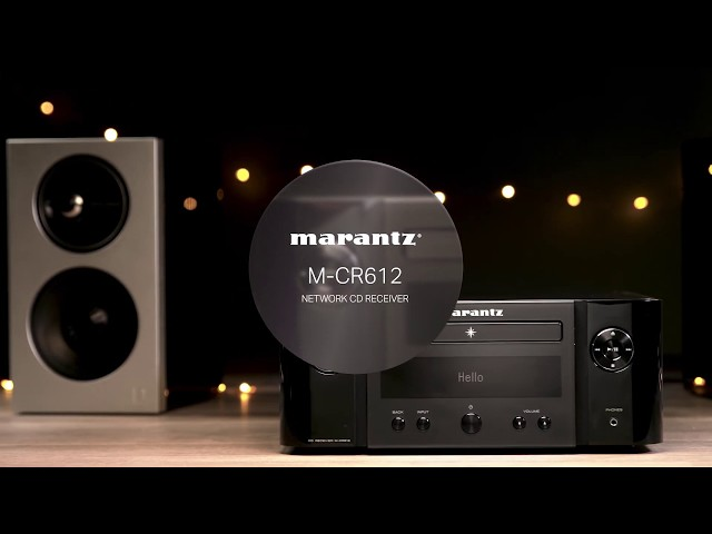 Marantz — Introducing the M-CR612