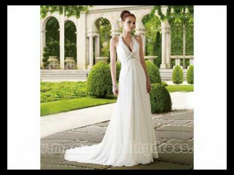 wedding dresses suitable for small bust youtube