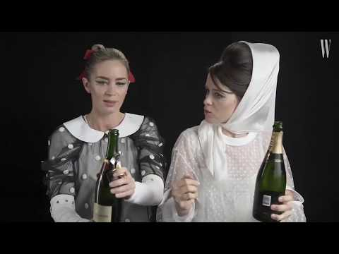 Claire Foy and Emily Blunt - Happy 2019