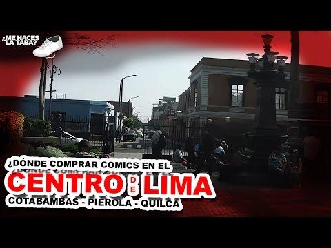 ¿Dónde comprar comics en el Centro de Lima? - Me Haces la Taba