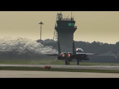 F15 Eagles at RAF Lakenheath.
