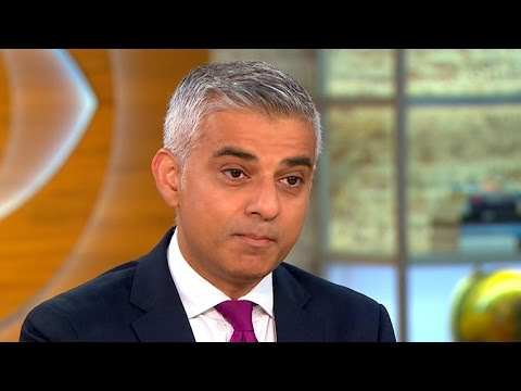 London Mayor Sadiq Khan on NYC bombing, Trump