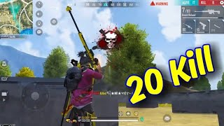 M828 দিয়ে ২০ কিলের Rank game Gaming With Talha! Free Fire Funny Game play