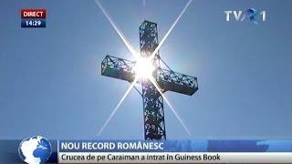 Crucea de pe Caraiman a intrat în Cartea Recordurilor