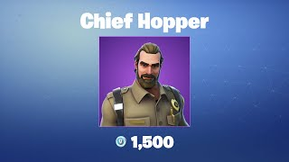 Chief Hopper | Fortnite Outfit/Skin