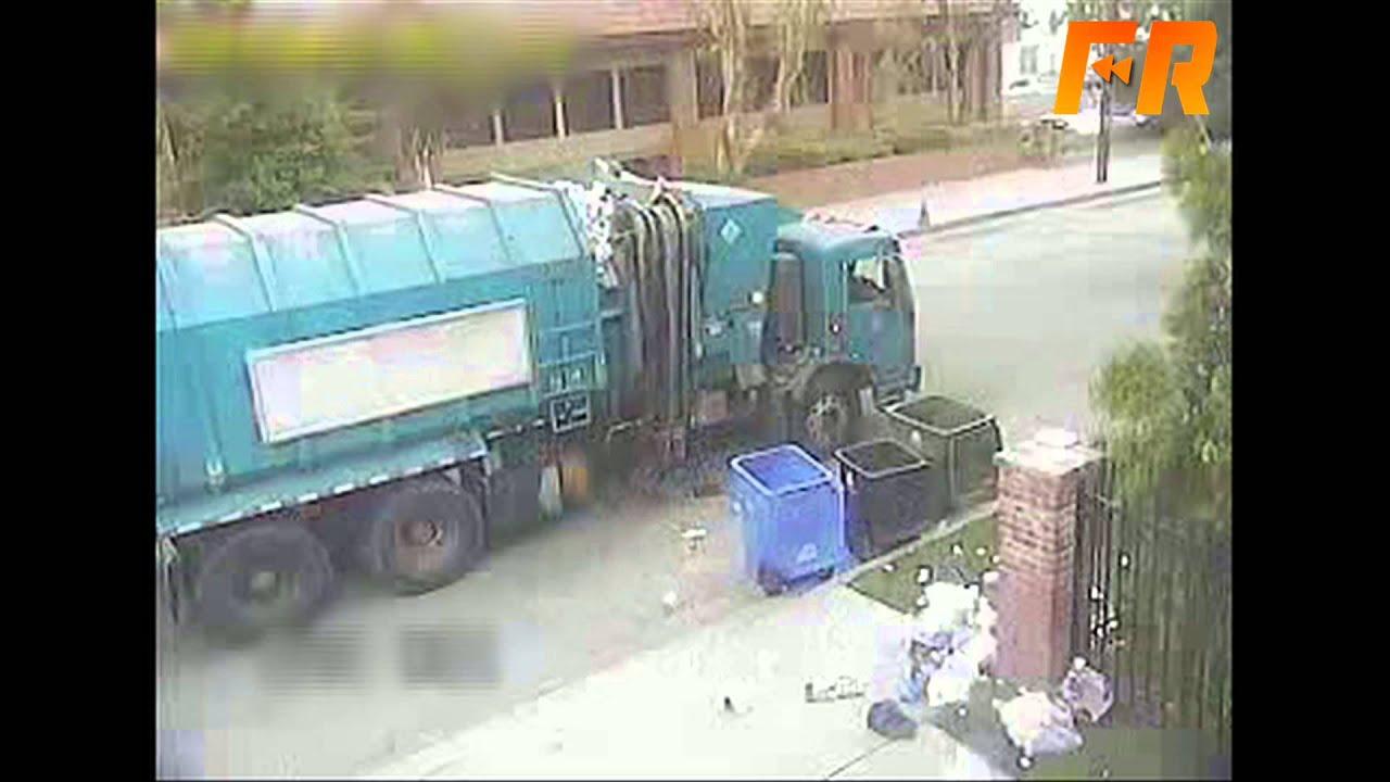 Trash Truck Fail Orangecabinet Youtube