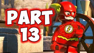 LEGO DC SUPERVILLAINS - PART 13 - FLASH Vs. JOHNY QUICK! (HD)