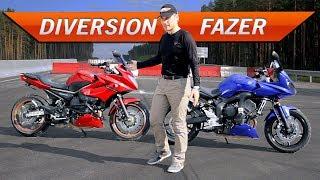 Fazer или Diversion? Выбор мотоцикла | FZ6 vs XJ6 | Тест-драйв от Jet00CBR