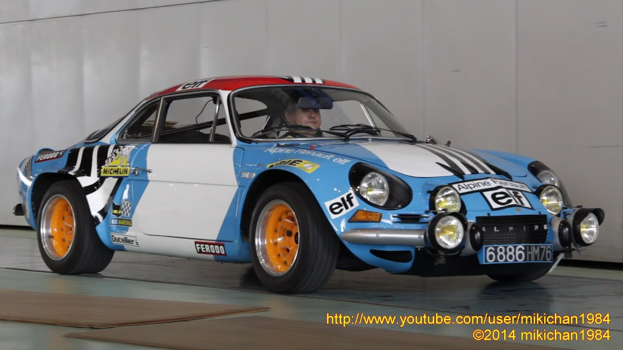 Alpine A110 Rally Car Pictures