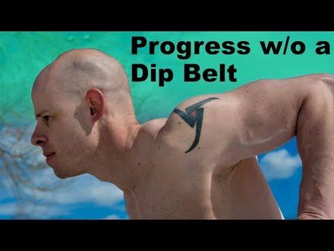 5 Ways to Progress Dips Without a Dip Belt