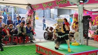 복분자 품바 /달봉이 공연단 동해 무릉제 축제# 재주가…