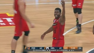 Jermaine Beal On Fire at Perth Arena