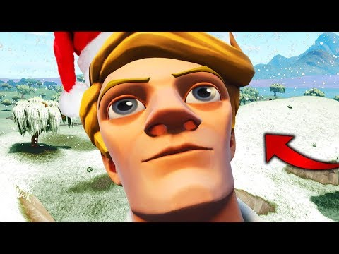 I PLAYED THE FORTNITE SNOW MAP EARLY!! thumbnail