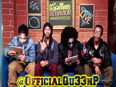 Behind-The-Scenes Mindless Behavior Cambio Live Chat