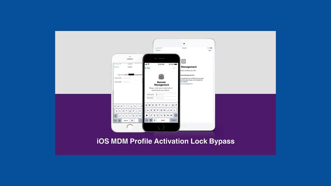 Apple MDM Activation Lock