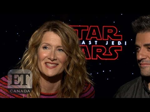 Download Youtube: Laura Dern And Oscar Isaac On 'Star Wars: The Last Jedi'