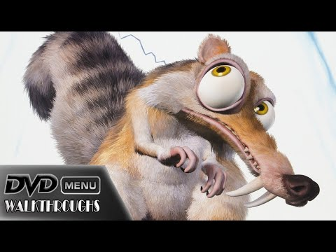 Ice Age 1, 2, 3 (2002, 2006, 2009) DvD Menu Walkthrough