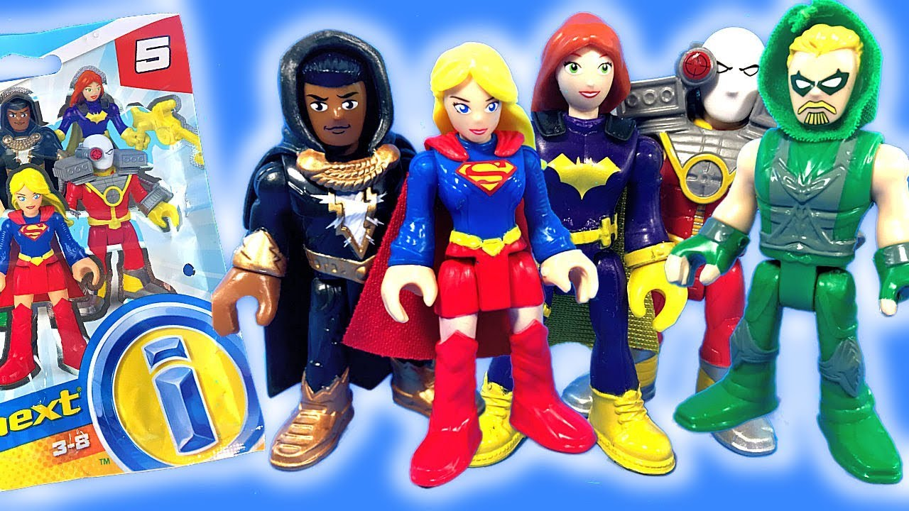 Imaginext Dc Super Friends Series 5 Blind Bags With Codes