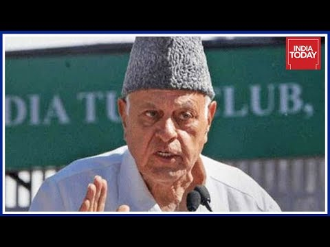 Farooq Abdullah Gives Clean Chit To Pakistan And China