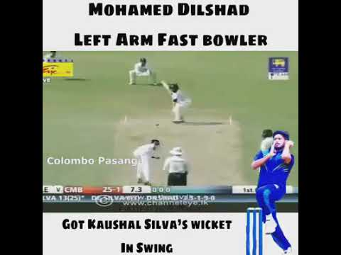 Fast bowler| Mohammed dilshad |#SL