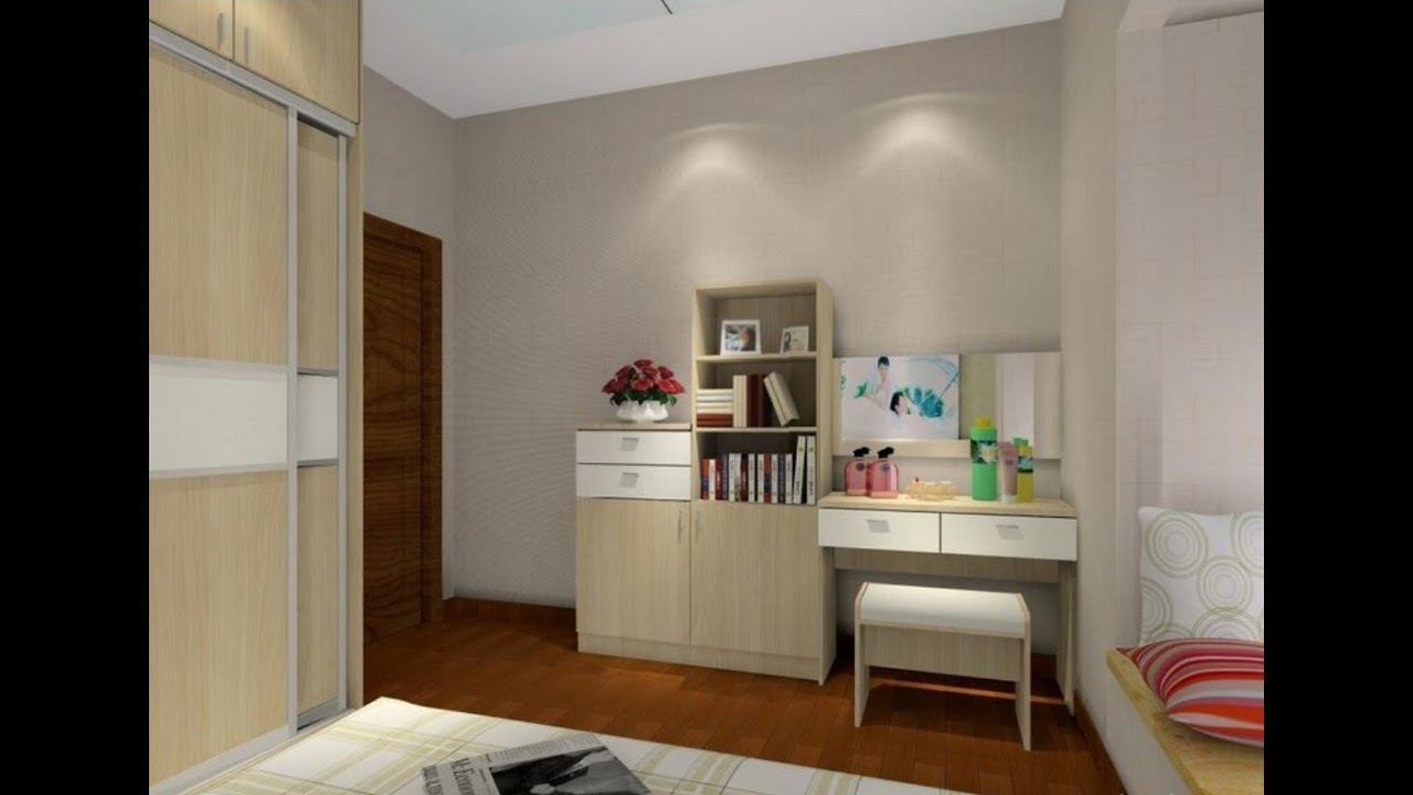Wardrobe With Dressing Table Designs For Bedroom