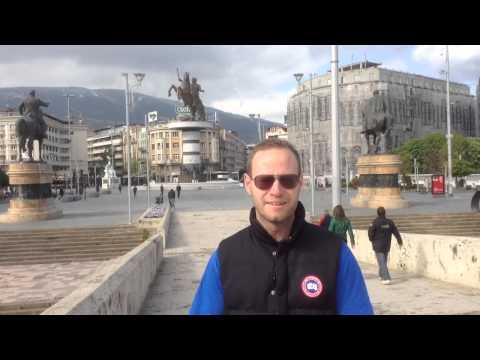 Balkan trip 2014, Makedonien, del 4 av 4. Skopje