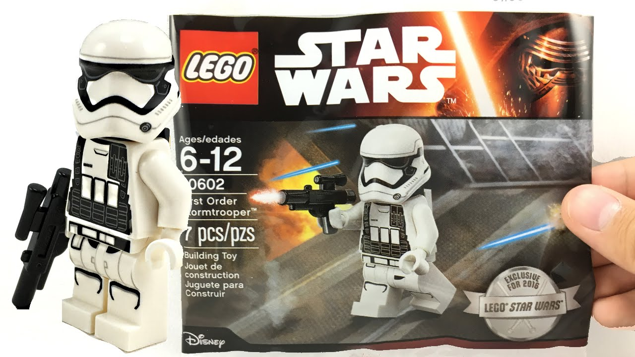 Worst Lego Star Wars May The 4th Set 2016 First Order Stormtrooper