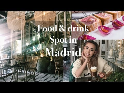 My Fave FOOD & DRINK spots in MADRID