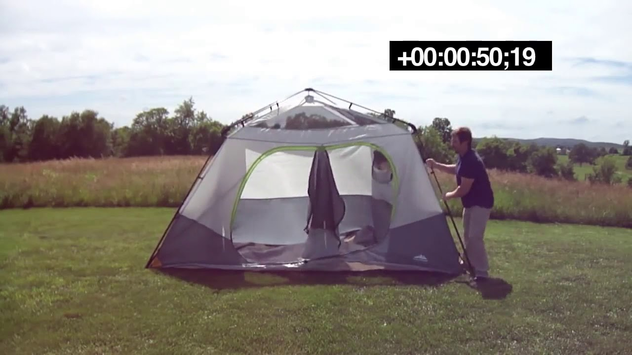 Kmart NWT 8 Person Instant Tent Setup