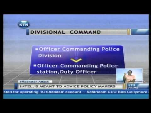 How the Mpeketoni Attack intelligence report was shared