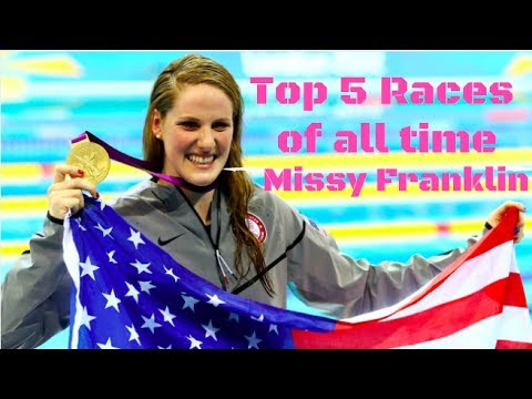Missy Franklin Top 5 Races of all time