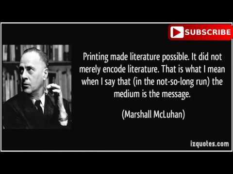 the medium is the message understanding