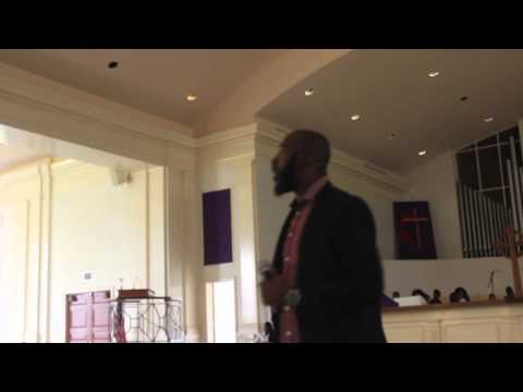 Alton Walker at Paine College in Augusta, GA