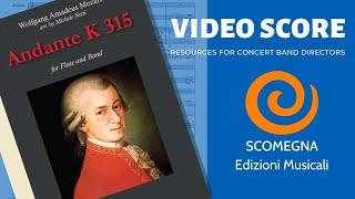 ANDANTE K315 - Flute solo - Wolfgang Amadeus Mozart, arr. Michele Netti