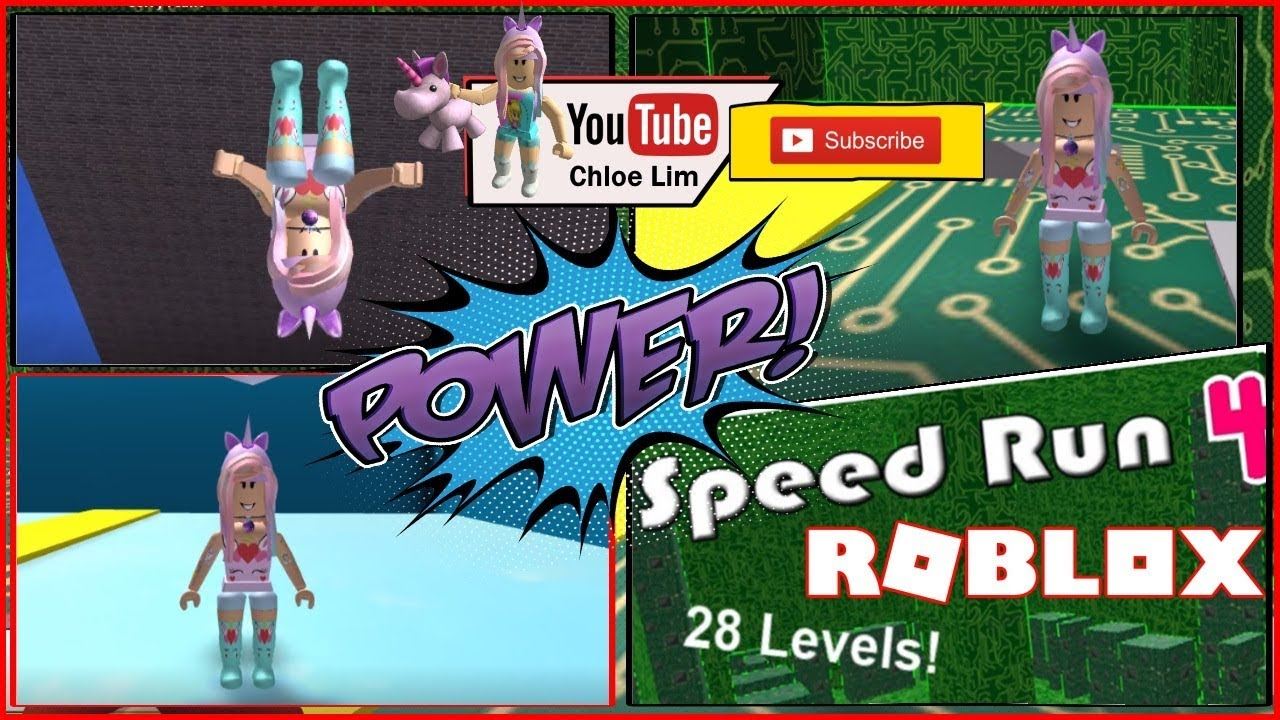Roblox Gameplay Speed Run 4 Part 1 Watch Out For Part 2