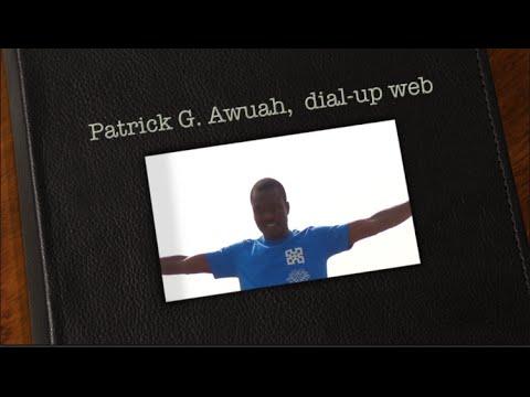 Patrick G. Awuah development of dial-up web