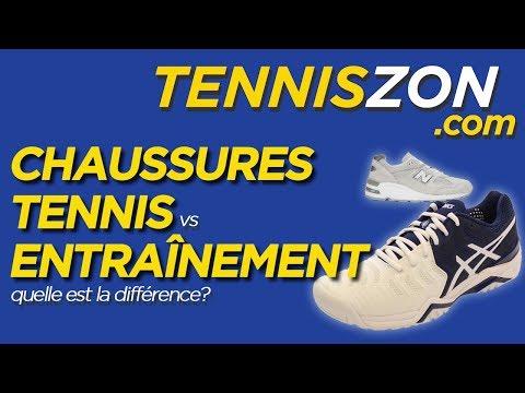 Chaussures Tennis vs Course: Quelle est la différence?