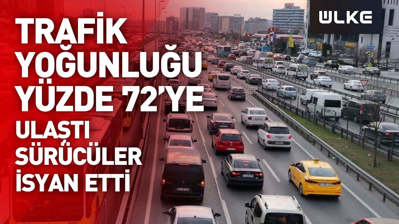 Download İstanbul'da haftanın son iş gününde trafik yoğunluğu yaşanıyor.