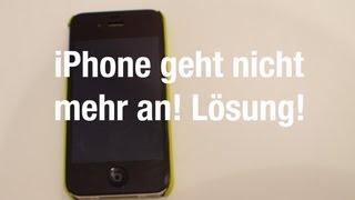 iPhone geht nicht mehr an! Lösung!