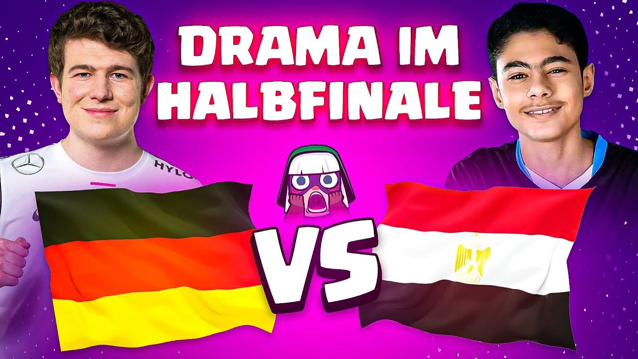Download DRAMA um DEUTSCHLAND im WM HALBFINALE! | Ägypten überrascht alle! | Clash Royale WM Deutsch