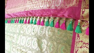 One Minute Baby Kuchu using Beads || Latest Designs for Saree Tassels at home